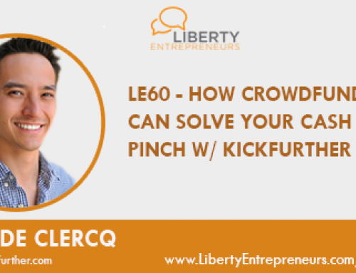 LE60: How Crowdfunding can Solve your Cash Flow Pinch w/ Sean De Clercq