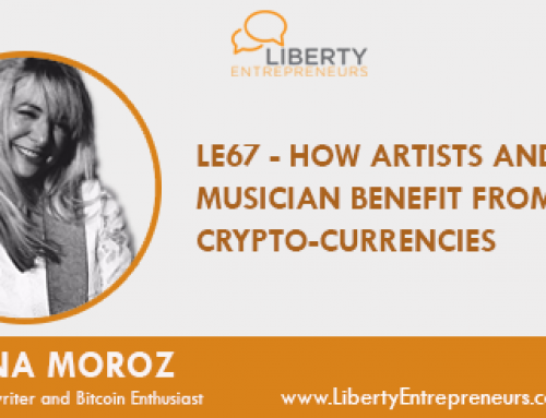 LE66 – How Artists and Musicians Benefit from Cryptocurrencies w/ Tatiana Moroz