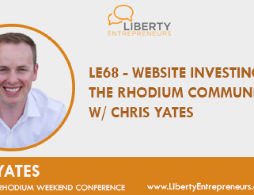 LE68 – Website Investing and the Rhodium Community w/ Chris Yates